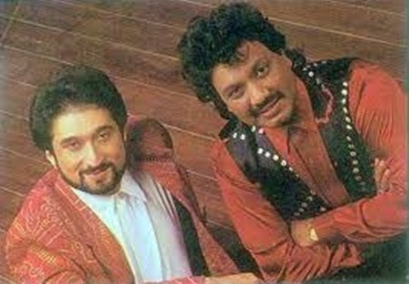 Old photo of Nadeem and Shravan from a shoot
